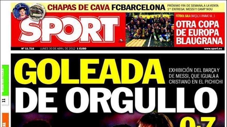 De las portadas del día (30/04/2012) #14