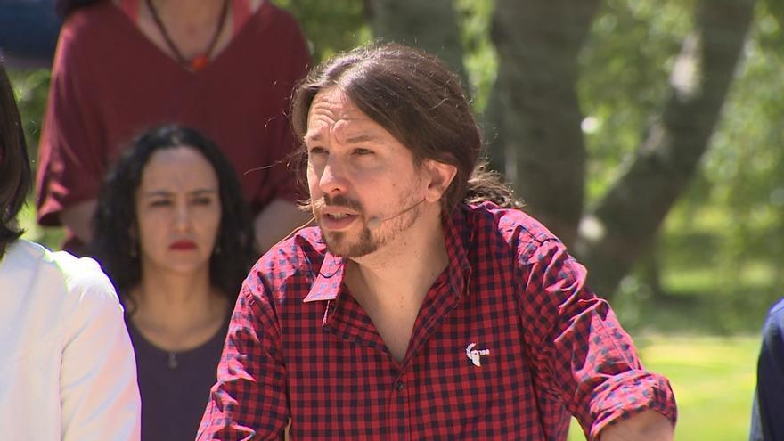 Iglesias dice que si hay 'sorpasso' llamará a Sánchez la noche electoral y que le daría la Vicepresidencia