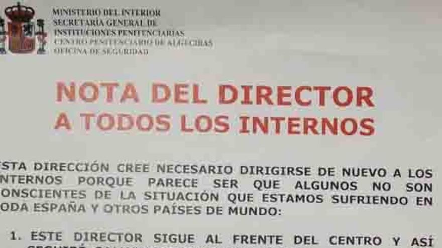 Nota del director, publicada por La Razón