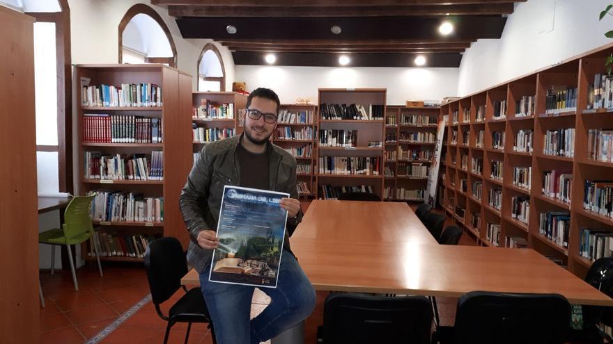 Juan Gabriel Pérez,  concejal de Cultura del Ayuntamiento de Puntagorda.