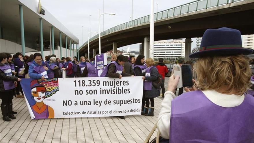 """El tren de la libertad"" llega hoy a Madrid contra la reforma del aborto"