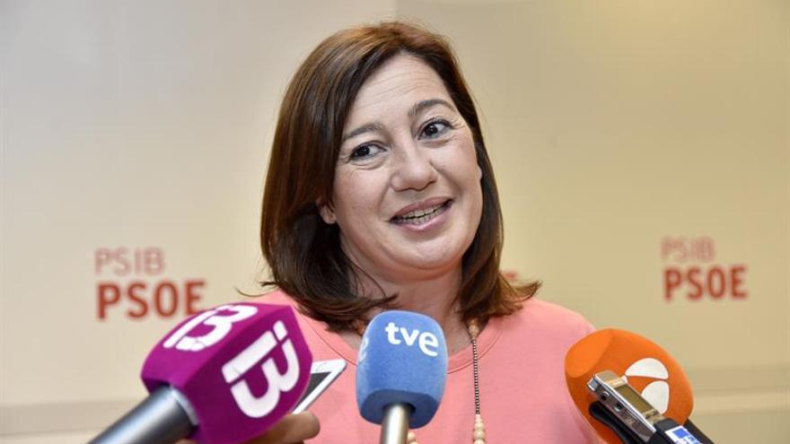 Armengol oficializa su precandidatura a la reelección como líder del PSIB