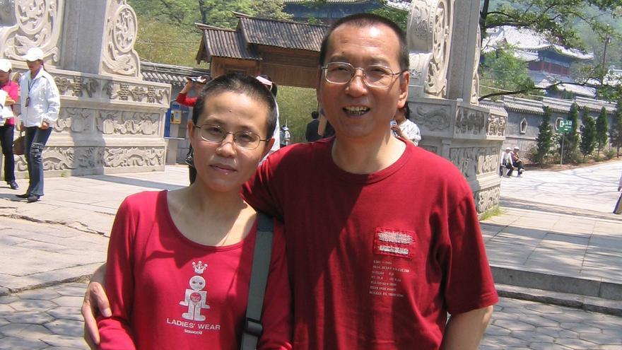 Liu Xia y Liu Xiabo © Privado