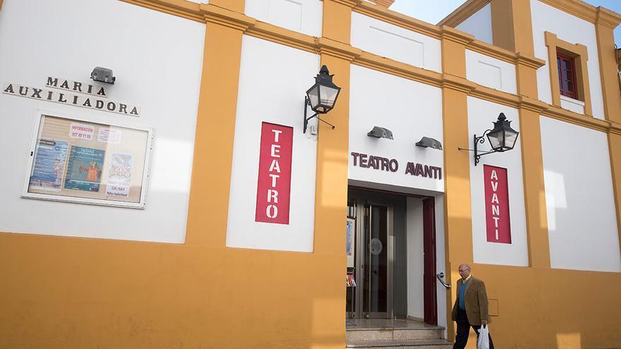 Fachada del Teatro Avanti |TONI BLANCO