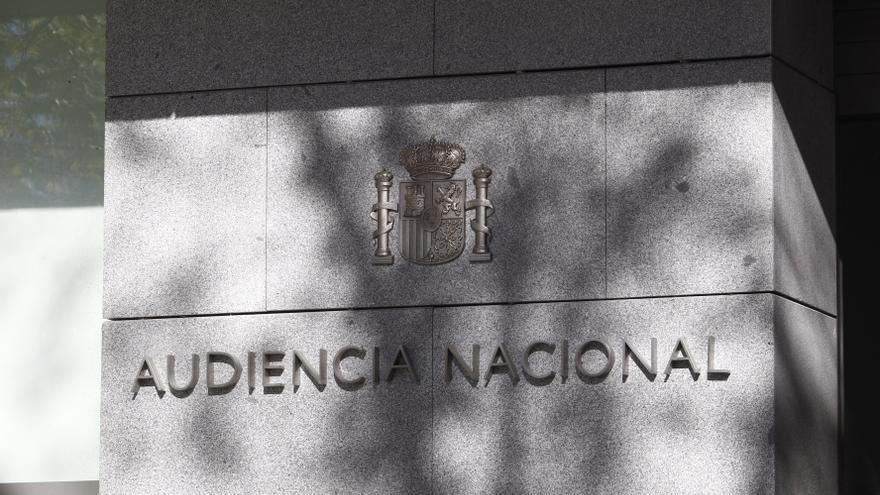 El edificio de la Audiencia Nacional en Madrid.