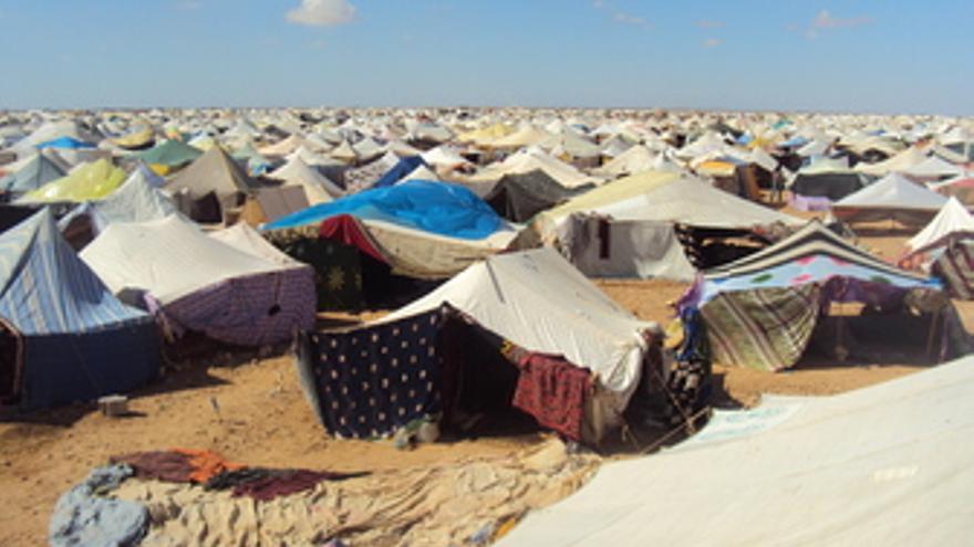 Campamento de protesta El Aaiún. (EUROPA PRESS)