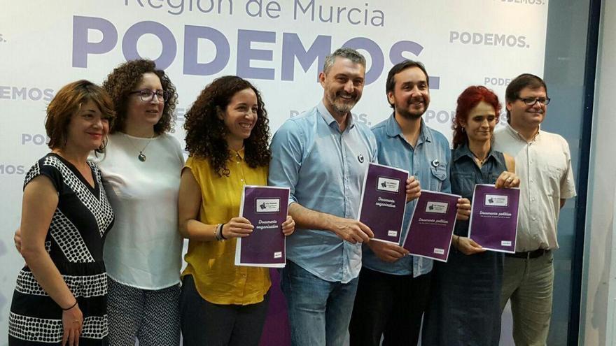 Más Podemos y Más Profundización Democrática con Óscar Urralburu para la secretaría general en la Región de Murcia