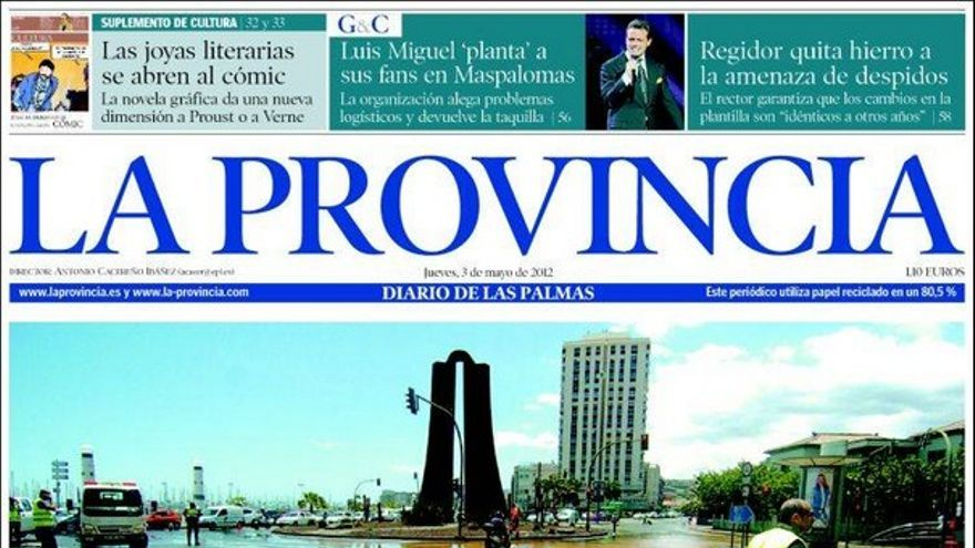 De las portadas del día (03/04/2012) #1