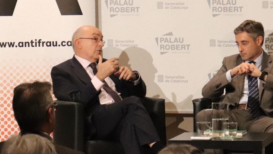 Gimeno y Sánchez Ulled, durante el debate