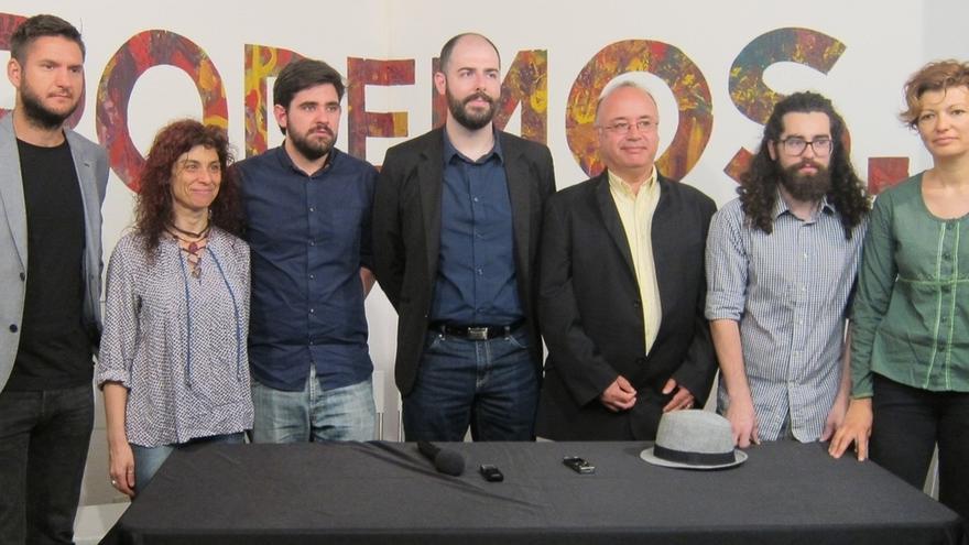 Echenique y Monedero harán campaña en Cantabria, pero no vendrán ni Pablo Iglesias ni Garzón