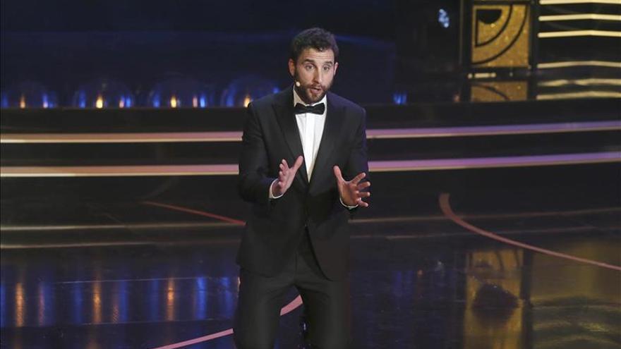 Dani Rovirá volverá a presentar la gala de los premios Goya