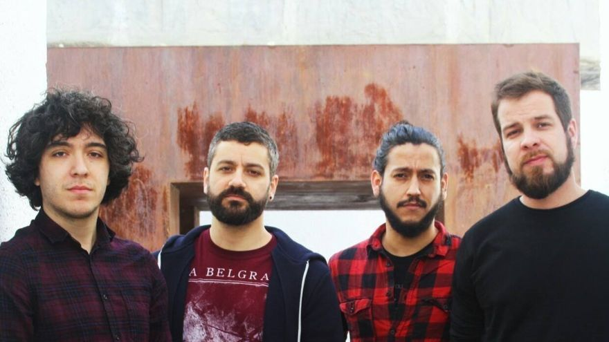 El grupo musical Jardín de la Croix