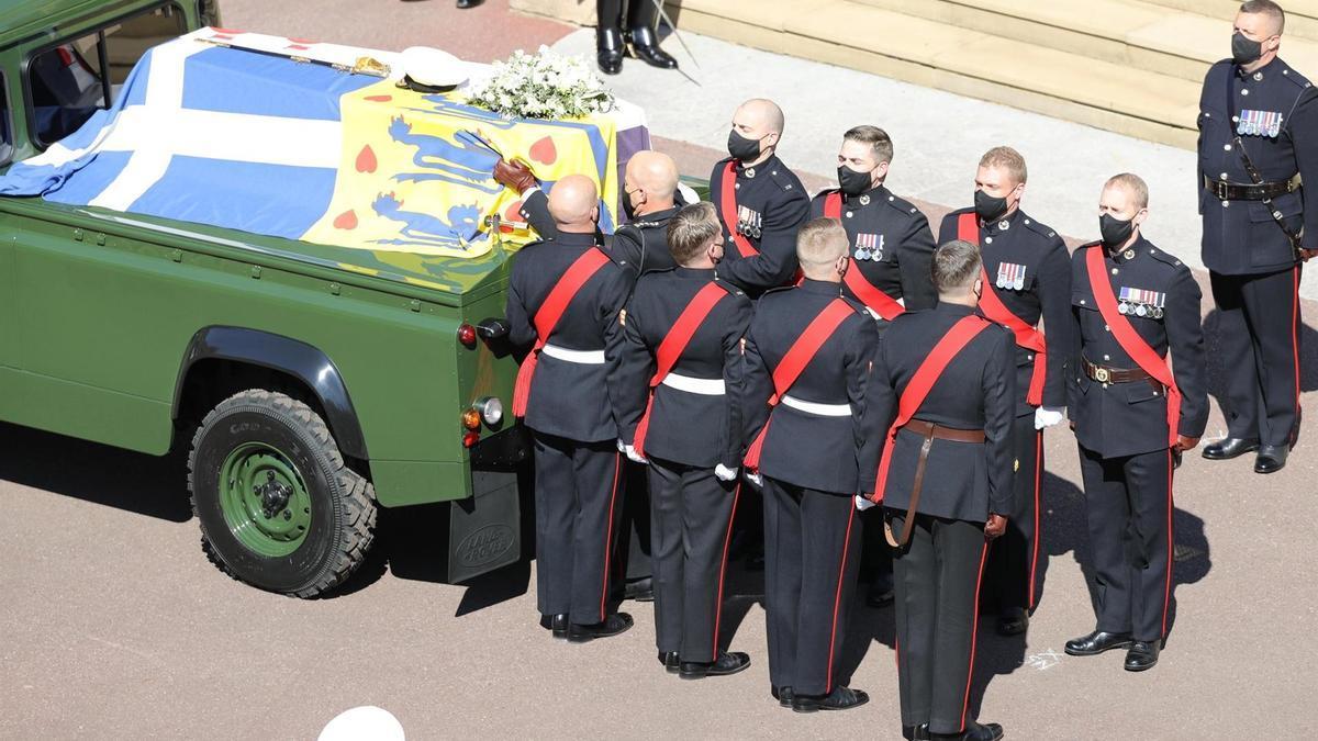 Comienza el funeral por el duque de Edimburgo