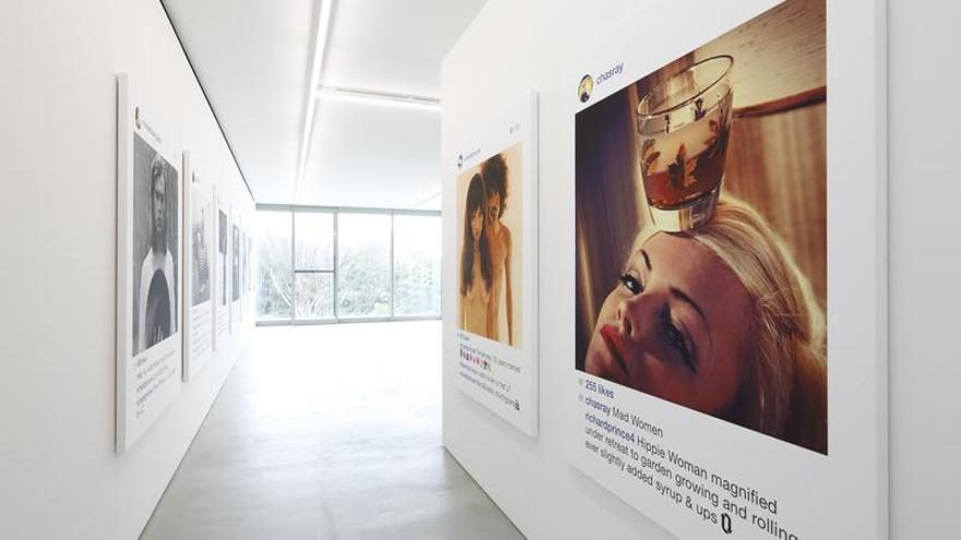 Una exposición de imágenes de Instagram plantea este y otros interrogantes sobre los derechos de autor