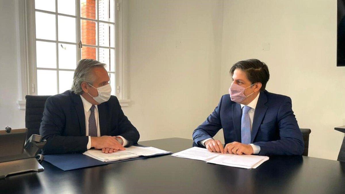 Alberto Fernández y el ministro de Educación evaluaron las condiciones en las que se dan las clases presenciales en cada provincia.