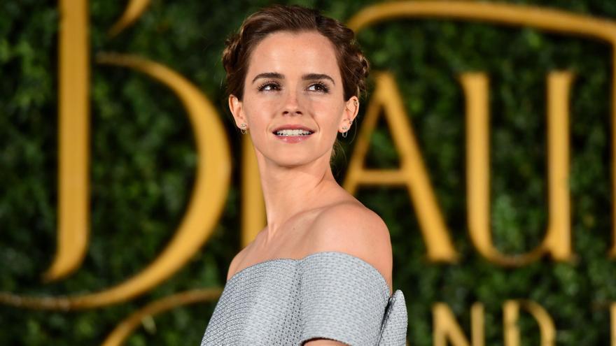 Emma Watson, durante la promoción de 'La bella y la bestia'