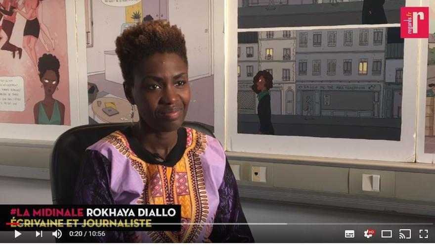 """La periodista y activista francesa Rokhaya Diallo ha sido apartada de un órgano consultor principalmente por su crítica al """"racismo institucional"""" del país galo"""