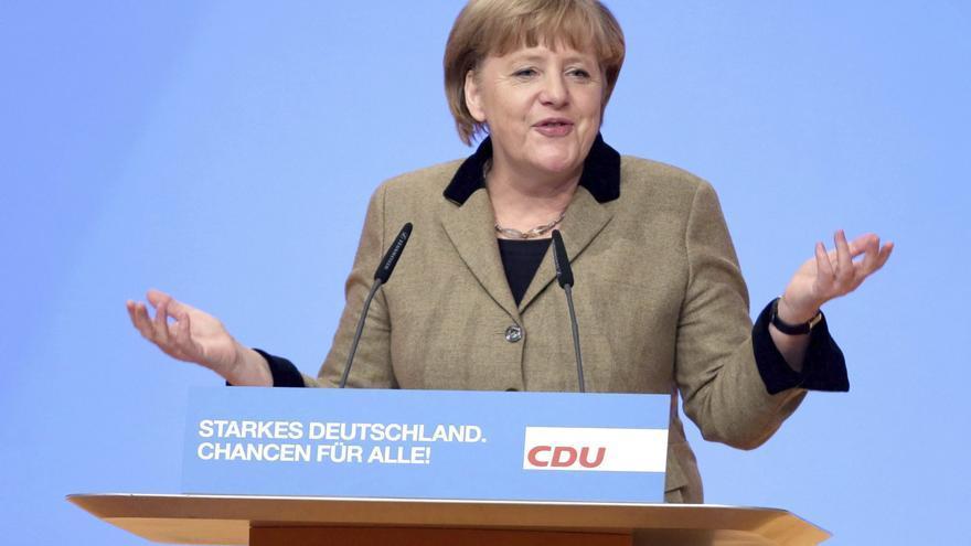 Merkel aplaude el acuerdo del Eurogrupo sobre el supervisor bancario común