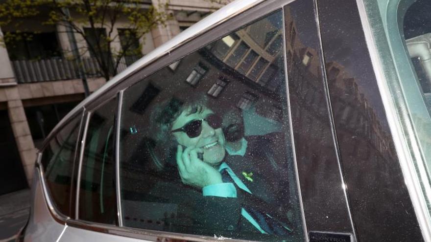 La justicia belga archiva una denuncia de Puigdemont por un presunto geolocalizador en su coche