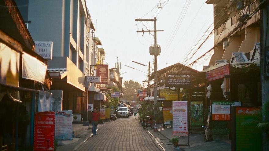 Calles en Chiang Mai. ePi.Longo