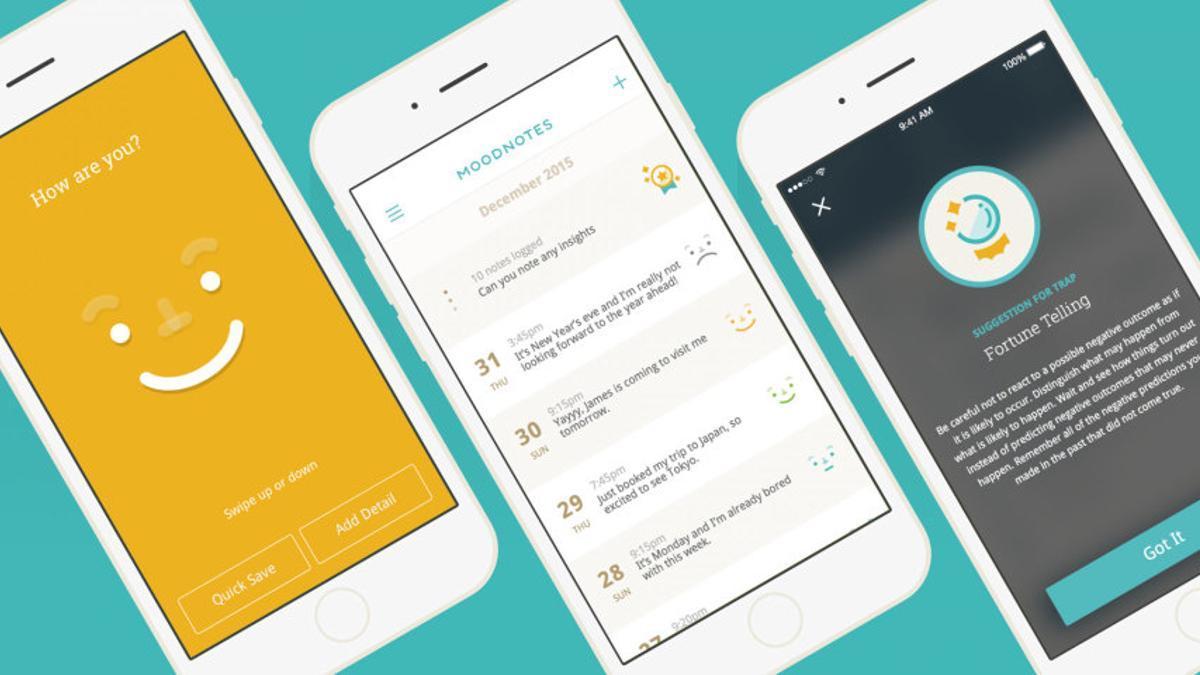 Moodnotes, una app para monitorear tus estados mentales y hacer trackeo de tus emociones