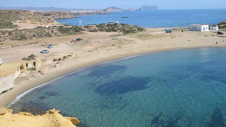 Vista de la playa de los Cocedores | A. Cáceres (ayuntamiento de Pulpí)