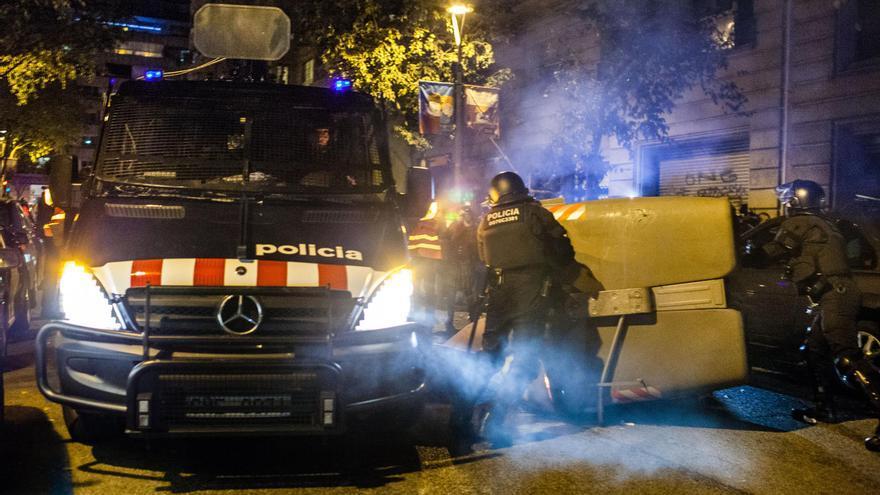 Protesta pels detinguts en l'operació Pandora. / ENRIC CATALÀ