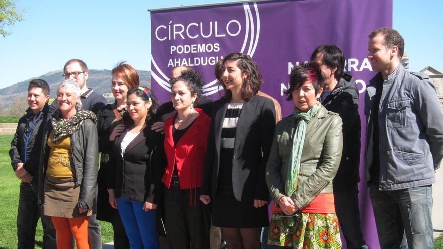 """Podemos presenta una lista al Parlamento de Navarra """"unida por el compromiso, las ganas de cambio y la ética"""""""