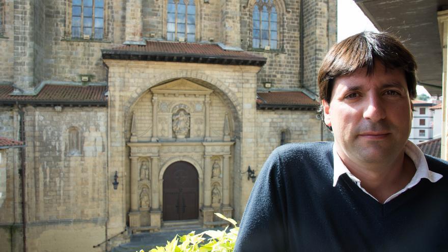 El alcalde de Errenteria, Julen Mendoza.