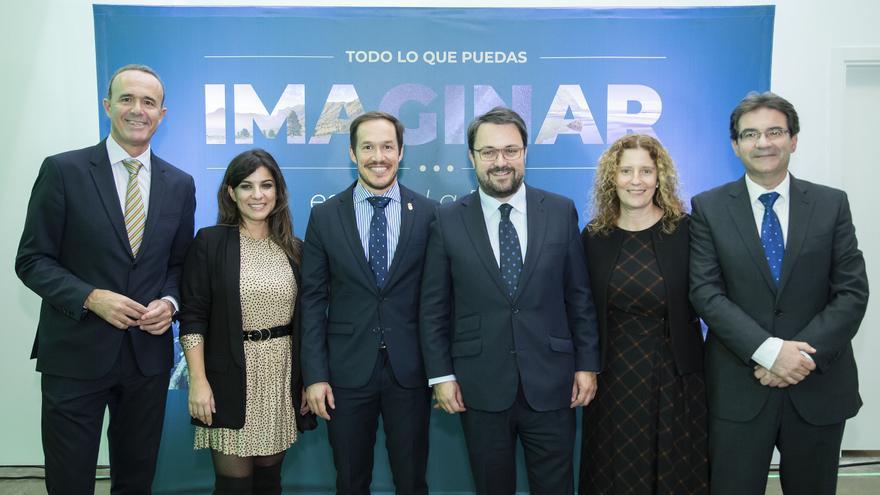 Acto organizado en Madrid por la Consejería Insular de Turismo  en el marco de los días durante los cuales se celebra la Feria Internacional de Turismo (Fitur).