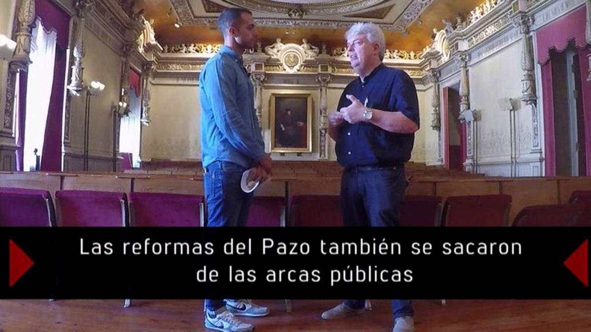 Escena del reportaje 'La herencia de los Franco'