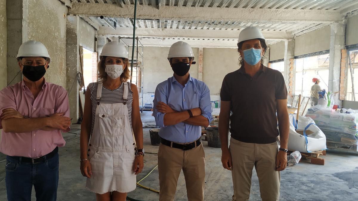 La Junta realiza 76 obras en centros escolares de cara al nuevo curso.