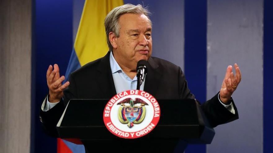 Misión de la ONU destaca el apoyo del gobierno de Duque al acuerdo de paz