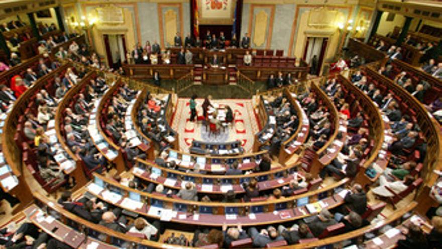 Pleno del Congreso. (EUROPA PRESS)