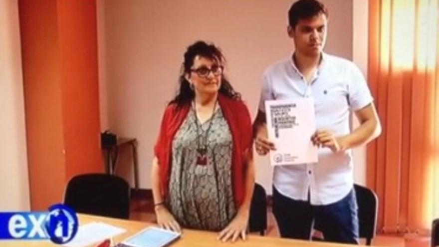 Ana Bayón Daniel Gómez Podemos Extremadura