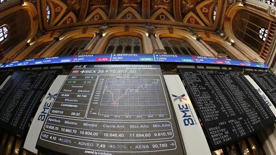 La bolsa española cae tras el referéndum griego y el IBEX cede un 1,95 por ciento