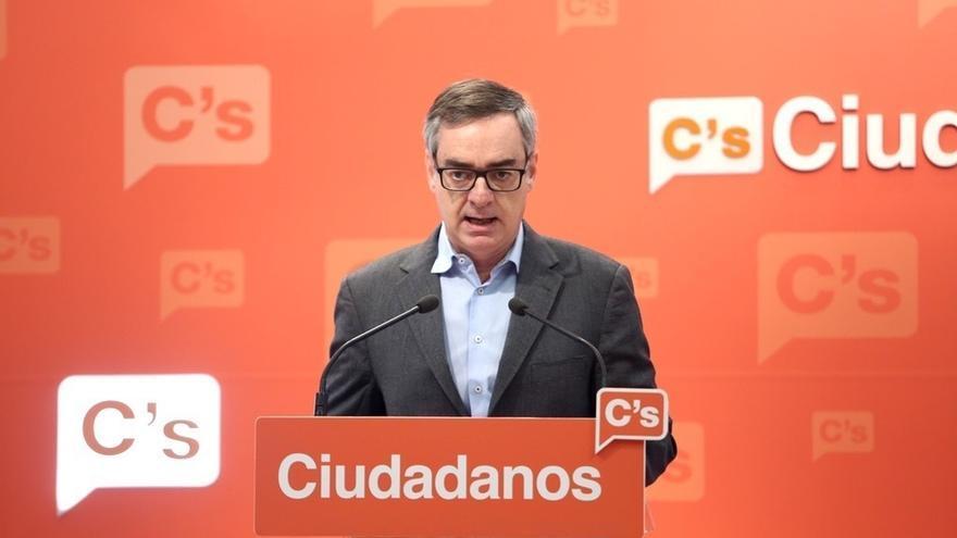 Villegas dice que Cs llevará el caso de Ramírez en la Diputación de Guadalajara a Comisión del Pacto Antitransfuguismo