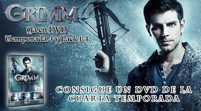 Regalamos la 4ª temporada de la serie \'Grimm\'!