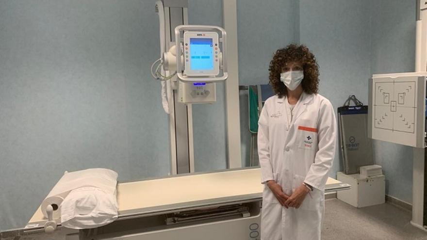 La nueva máquina de rayos-x comienza desde hoy a prestar servicio en el centro de salud de Mazarrón