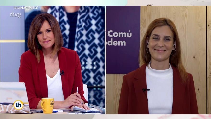 El dardo de Toni Cantó sobre el momentazo de Jéssica Albiach en TVE se vuelve en su contra