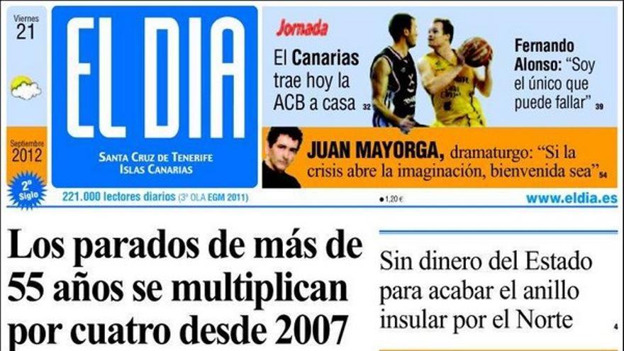 De las portadas del día (21/09/2012) #4