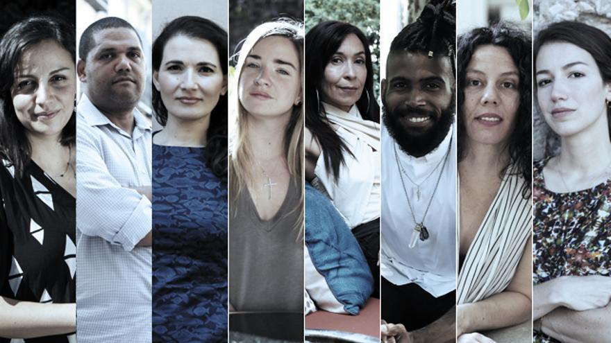 Ocho de los más de 50 creadores emergentes recopilados por Casa de América