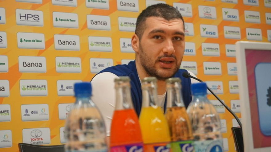Beqa Burjanadze, jugador del Granca.