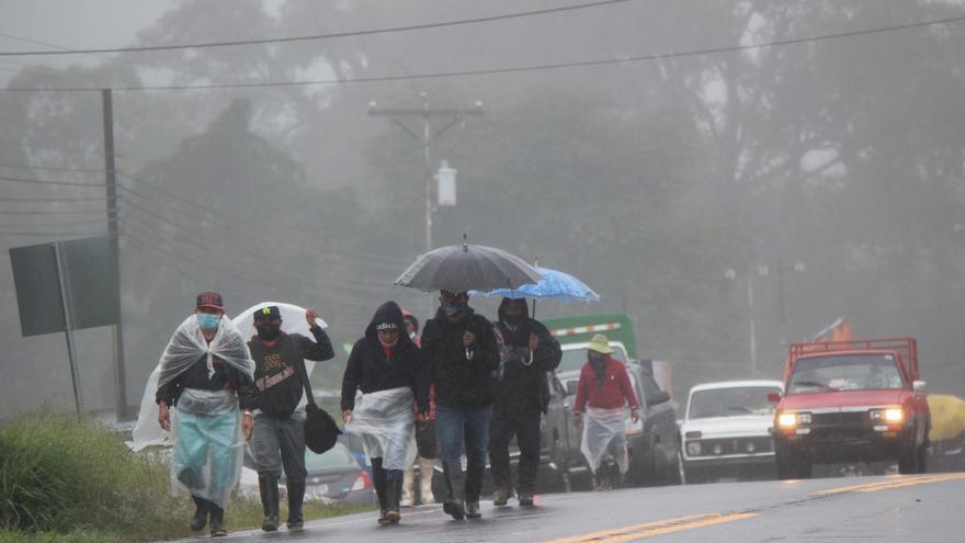 Un desaparecido y centenares de casas afectadas por las fuertes lluvias en Panamá