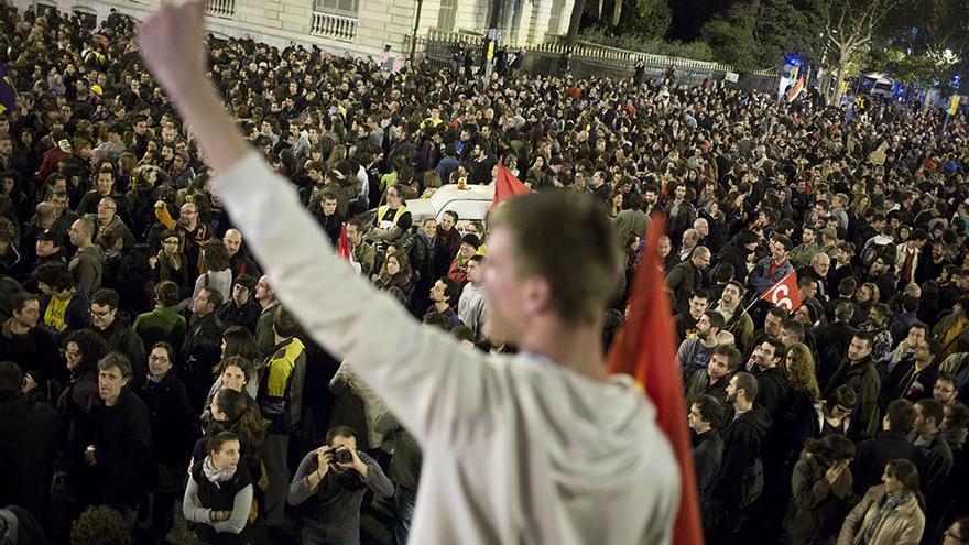 Imagen de la Huelga general del 14 de Noviembre en Barcelona / Edu Bayer