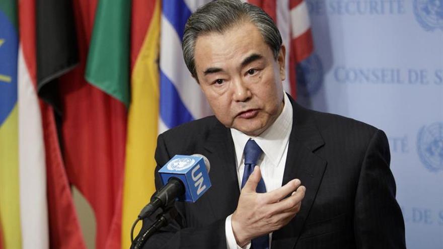 """China pide evitar """"provocaciones retóricas"""" ante el programa nuclear norcoreano"""