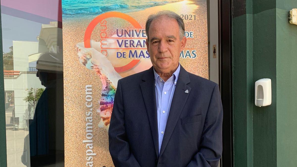 Antonio González, en la Universidad de Verano de Maspalomas