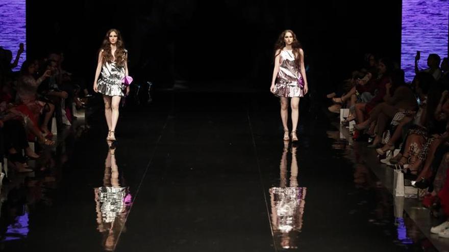 El español Marcos Luengo muestra su sutileza marina en el Fashion Week Panamá