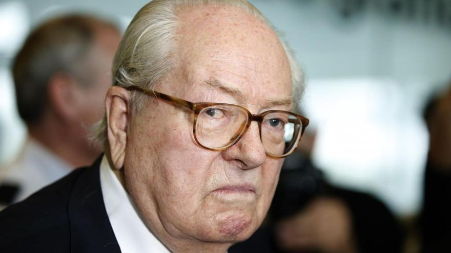 Jean-Marie Le Pen en una imagen de archivo.