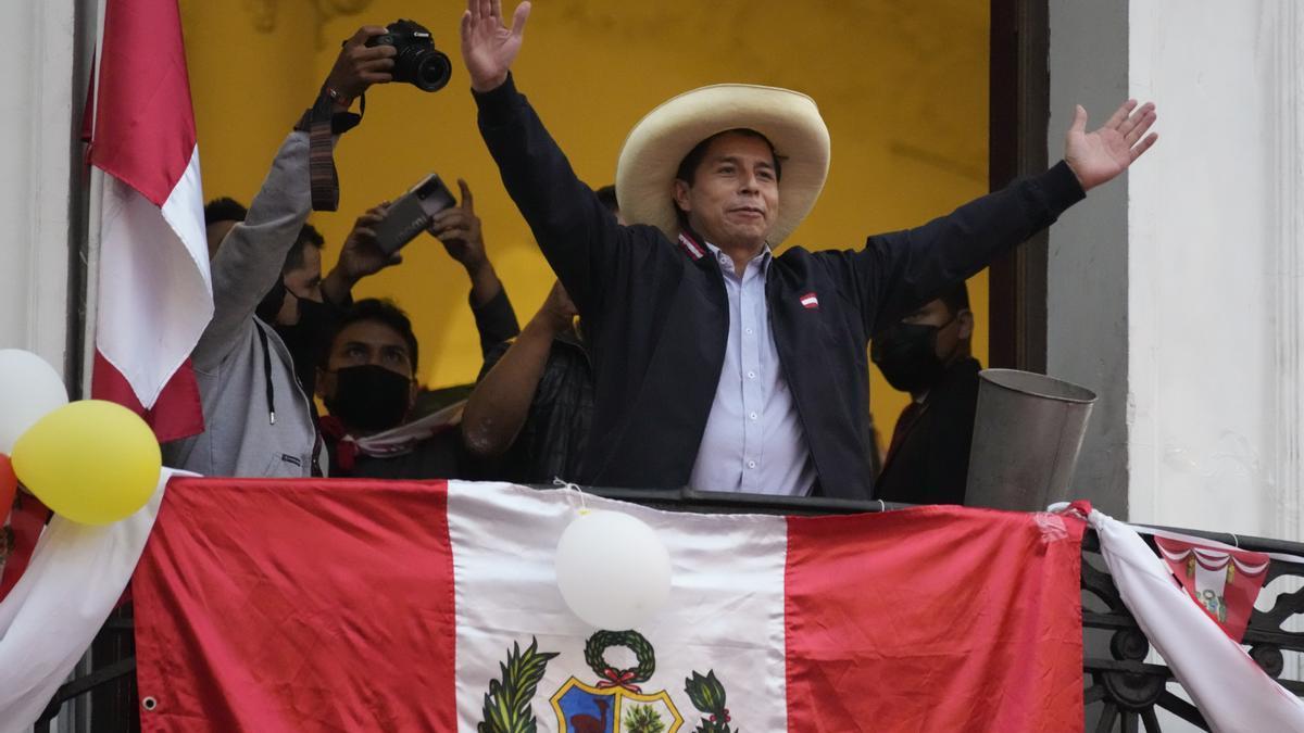 Pedro Castillo, el nuevo presidente de Perú.